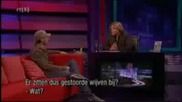 Enrique Iglesias and Shakira onjensen Interview (funny Parts)