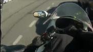 Лудо каране на мотор в Русия .