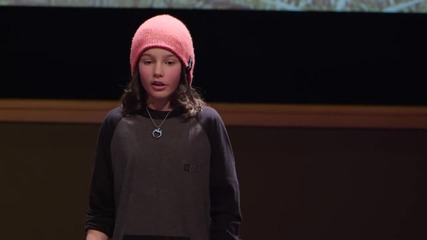 Ted: Hackschooling makes me happy - Logan Laplante at Tedxuniversi
