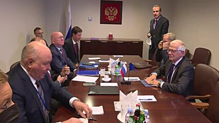 USA: Lavrov and Borrell hold talks at UN General Assembly sidelines in New York