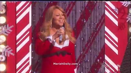 (hd) Mariah Carey - Oh Santa! (live at Disney World Christmas Parade)