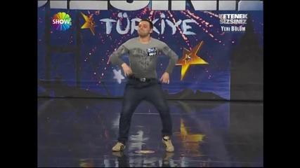 Yordan Iliev (yetenek sizsiniz turkiye) 14.1.2012