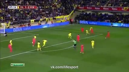 Виляреал - Барселона 1-3 - (copa del rey) 5.03.2015