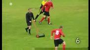 10 неща,  които не би трябвало да правите,  ако сте футболен съдия