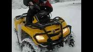 ATV Can - Am 800 Xt V Sniag moto Klub Slavi
