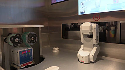 'RoboTea' - Get served by robots at Hong Kong's most cutting edge tea house