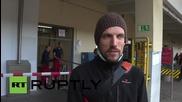 Австрия: Бежанци пристигнаха във Виена преди трансфера към Мюнхен
