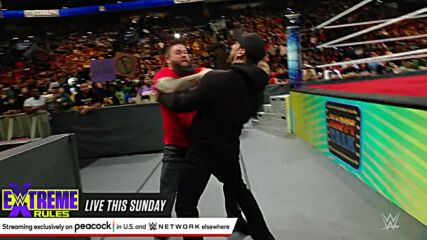 """Happy Corbin gets help to attack Kevin Owens on """"Happy Talk"""": SmackDown, Sept. 24, 2021"""