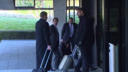 Switzerland: FIFA officials arrive for final day of Executive Committee meeting