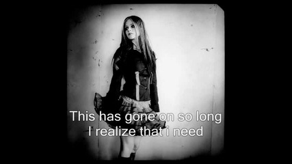 Avril Lavigne - Together + Lyrics