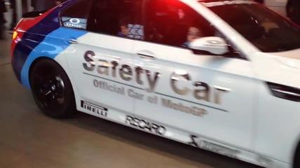 Bmw M5 - кола за сигурност в Moto Gp