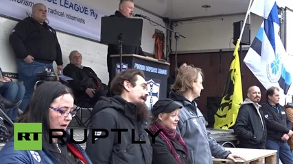 Finland: Anti-migrant rally fumes against Mosque construction plan