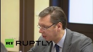 """Russia: Vucic thanks Putin for help in protecting """"territorial integrity"""" of Serbia"""