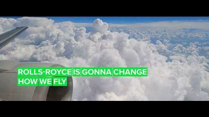"Rolls-Royce presents a ""greener"" future with UltraFan"