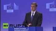 "Belgium: 'No' vote ""dramatically"" weakens Greek government - EC Vice President"
