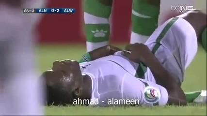 Феърплей - футболист не вкарва гол заради контузен противников играч