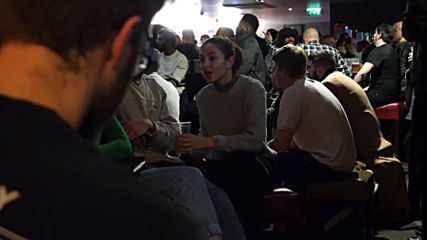 UK: United fans celebrate Manchester derby victory hard