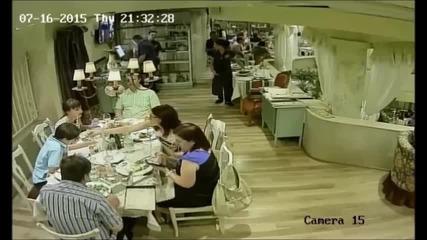 Нагли крадци в столично заведение !