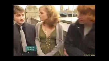 Daniel, Rupert And Emma