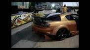 Mazda Rx8 Огън от ауспуха Flamekit