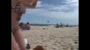 Хилари Дъф По Секси Бански На Плажа В Рио