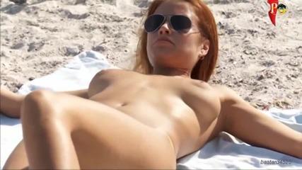Забавна шега на плажа в Украйна