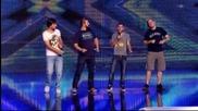 Георги, Ивелин, Момчил и Стефан - X Factor (02.10.2014)