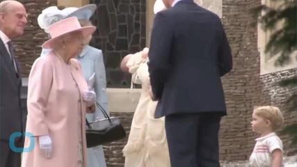 See Princess Charlotte's Royal Christening
