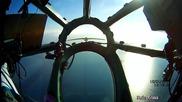 Самолет Ту134 каца в Сочи