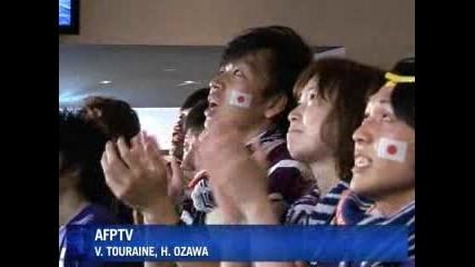 В Япония доволни от играта на своите
