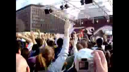 50 Cent - Just A Lil Bit (live Mtv Trl)