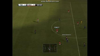 pes2012 gameplay