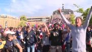 France: Fans in Noisy-Le-Grand go mad as France beat Peru 1-0