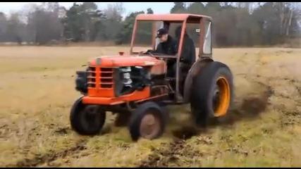 Трактор с турбо!