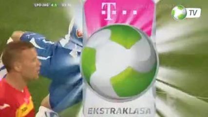 Красив гол на Александър Тонев - Лех Познан - Ягелония 4:1, 16.09.2011
