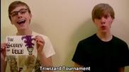 Хари Потър - 8 филма в 99 секунди (с превод)