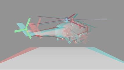 Най - доброто 3д видео хеликоптер Hd*