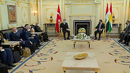 Iraq: Turkish Defence Minister Akar meets Kurdish President Barzani