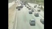 Ужасяващи кадри от фатален инцидент с кола