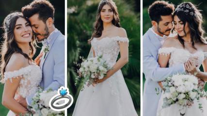 Любима турска актриса каза ''да'' на приказна сватба в курорт! Вижте прелестната Дениз Байсал