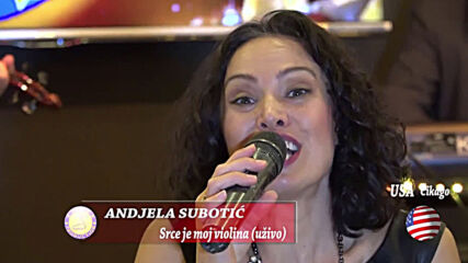 Andjela Subotic - Srce je moje violina (tv Sezam - uzivo)