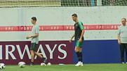 Без проблеми за Португалия преди мача срещу Мароко
