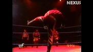 Хандикап Мач: Kane vs. Triple H & X - Pac 10.02.2000