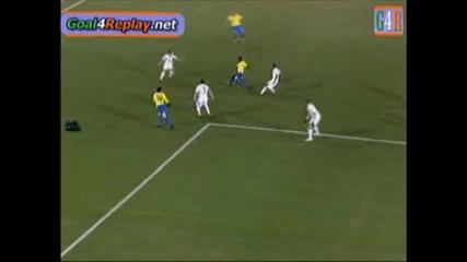 28.06.09 Сащ - Бразилия 2:1 гол на Луиш Фабиано !