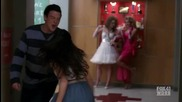 Glee - Rachel & Finn - Open Your Heart (1x15)