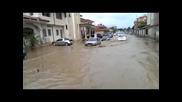 Наводнение Слънчев бряг