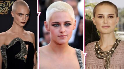 Смели и готови на всичко за професията си: Актрисите, които си обръснаха главите за роля