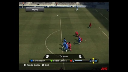Pro Evolution Soccer - Oпит за гол със странична ножица на Michael Essien (8/10)