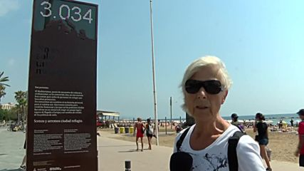 Spain: Barcelona's 'shame counter' tracks refugee deaths in the Mediterranean