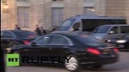 France: Putin & Poroshenko depart Normandy Format talks